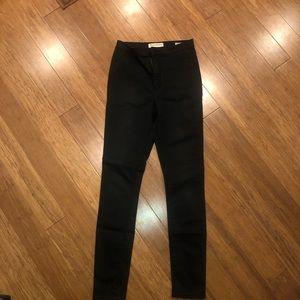 Bullhead Pacsun Super Skinny High Waisted Pants